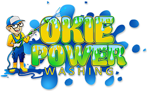 Okie Power Washing Logo