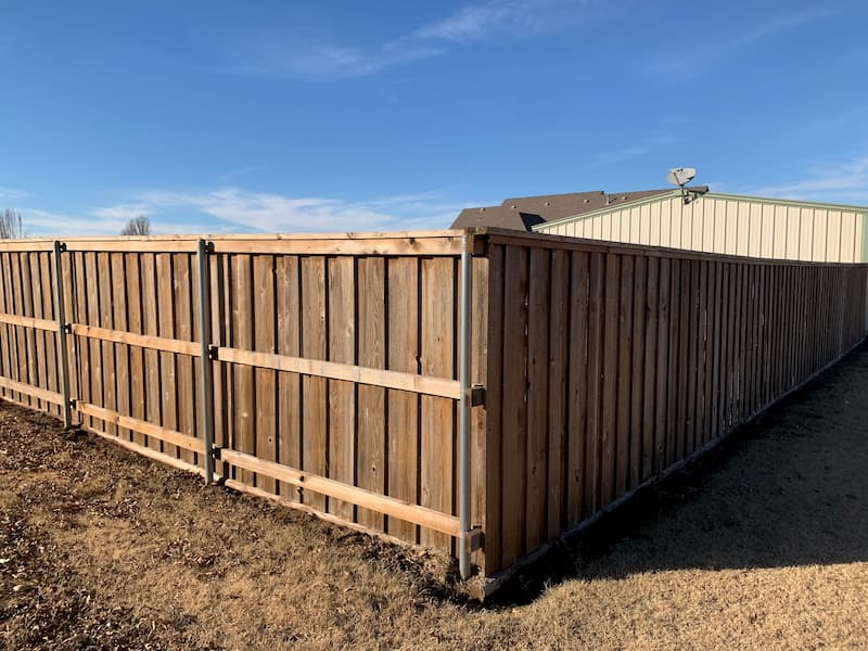 Fence Cleaning and Staining in Tuttle, OK